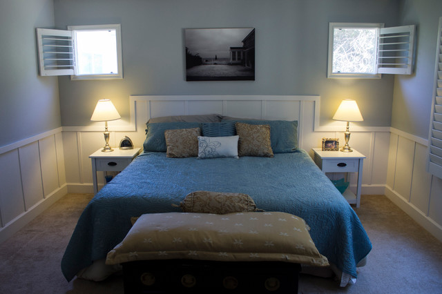 Cape cod inspired bedroom beach style bedroom san francisco by ovolo interiors - Cape cod style bedroom image ...