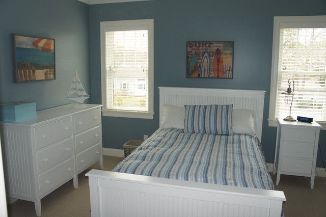 cape cod traditional bedroom