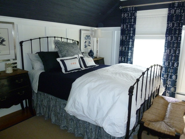 Cape Cod Master Bedroom After Beach Style Bedroom Boston By The Taylor 39 D Room Interiors