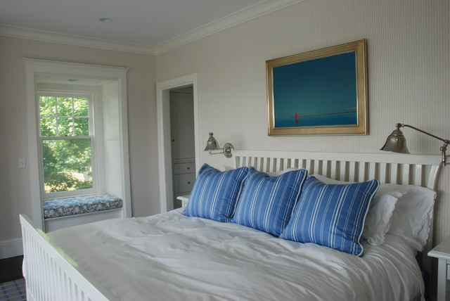 Cape cod nobscot beach style bedroom boston by for Cape cod style bedroom ideas