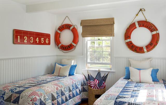 Cape Cod Renovation beach-style-bedroom