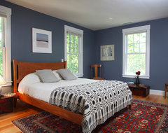 Cape Cod Renovation - Master Bedroom traditional bedroom