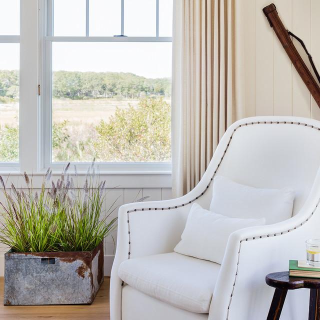 Cape Cod: Salt Marsh transitional-bedroom
