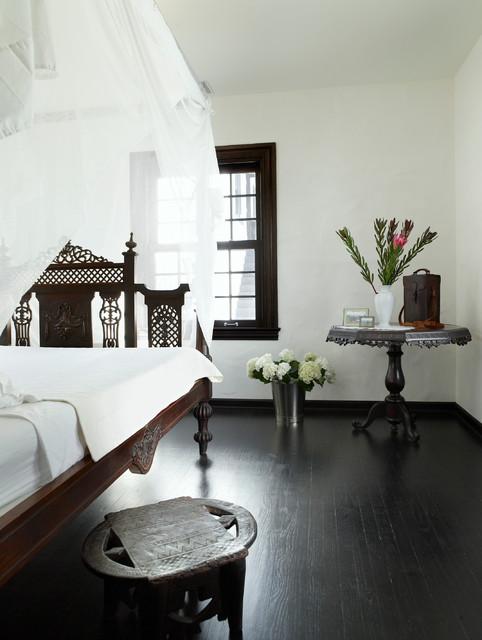 Cape Dutch House mediterraneo-dormitorio