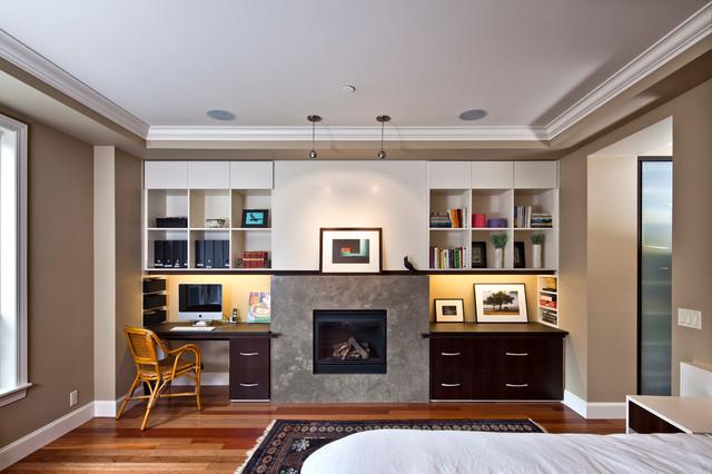 Capitol Hill Condo Interior Transitional Bedroom