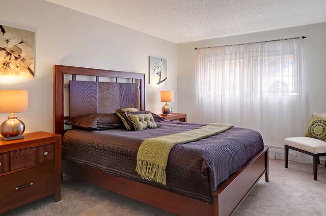 capitol Hill Condo contemporary-bedroom