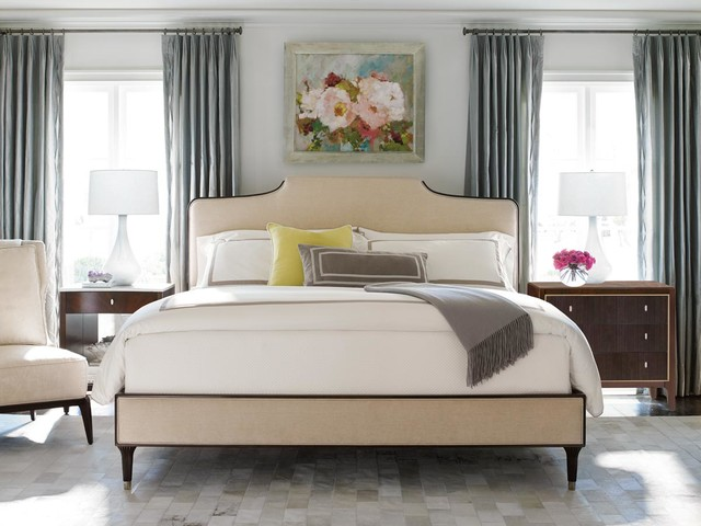 Caracole Easy On The Eyes Bed Contemporary Bedroom