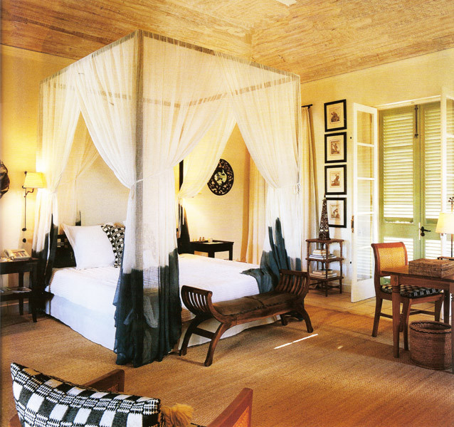 Caribbean Villa Iii Tropical Bedroom New York By Jennifer