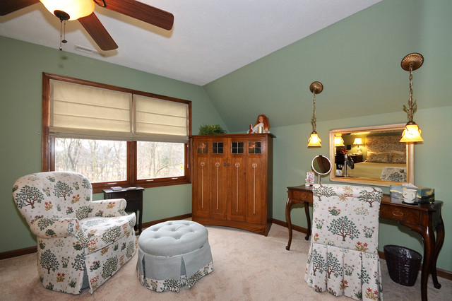 Carmel Arts and Crafts Remodel traditional-bedroom