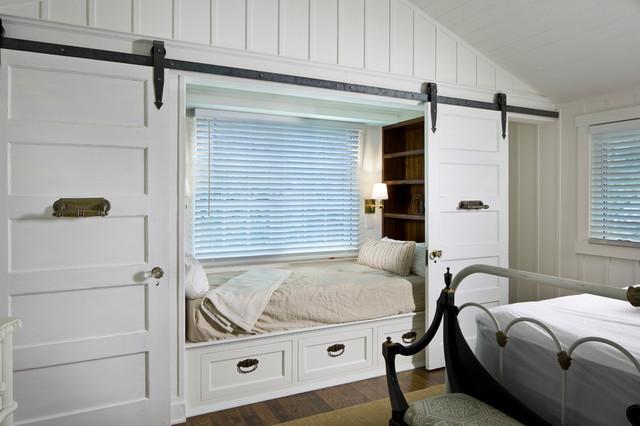 Carmel Historic transitional-bedroom