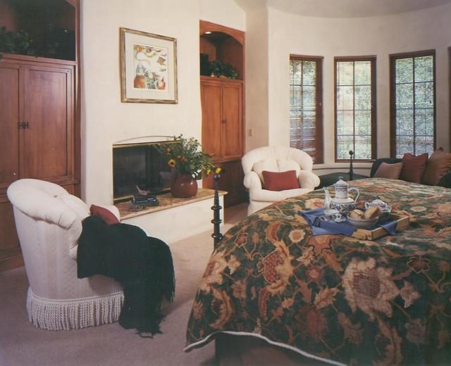Carmel Rustic Mediterranean Bedroom San Francisco By Michelle Pheasant Design Inc