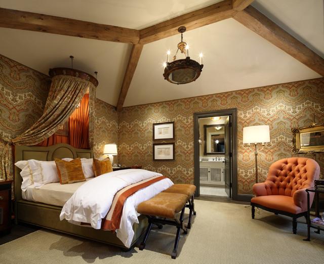 Carmel Valley Estate mediterranean-bedroom
