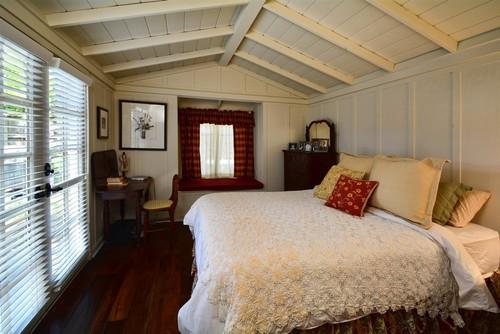 textured farmhouse bedroom