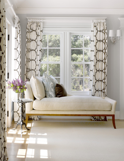 Good Design geo drapes neutral