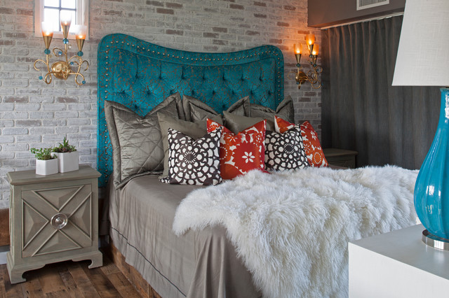 Carriage House contemporary-bedroom