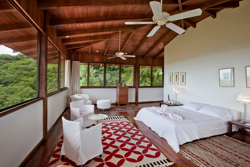 Tropical Bedroom from Houzz