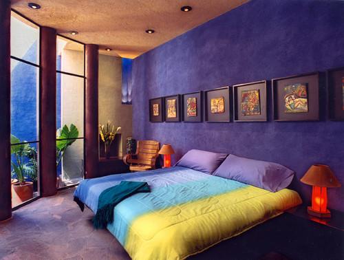 Casa de las Estrellas contemporary bedroom