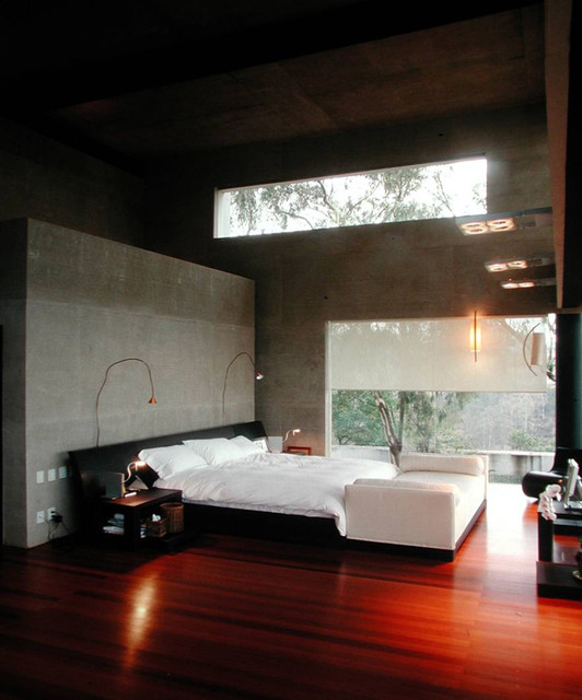 Casa KM contemporary bedroom