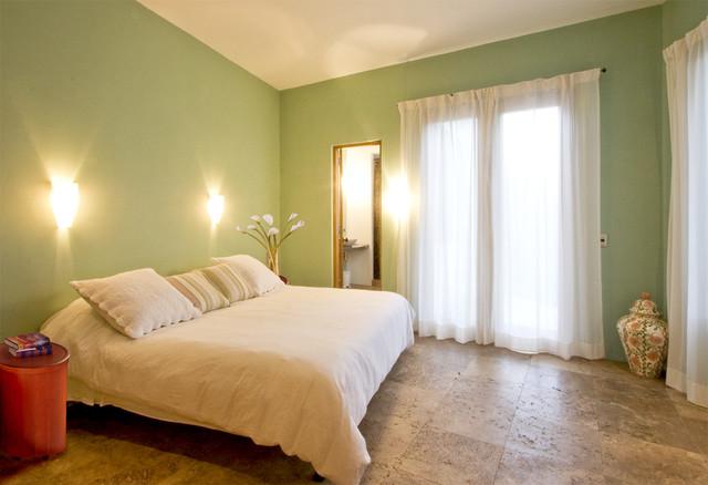 Casa Lluvia Blanca southwestern-bedroom