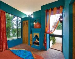 Casa Lluvia Blanca mediterranean-bedroom