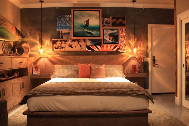 Casa surf project billabong men 39 s suite la casa del for Surfing bedroom designs