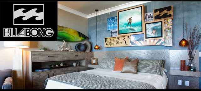 Casa surf project la casa del camino hotel billabong for Surfers bedroom design