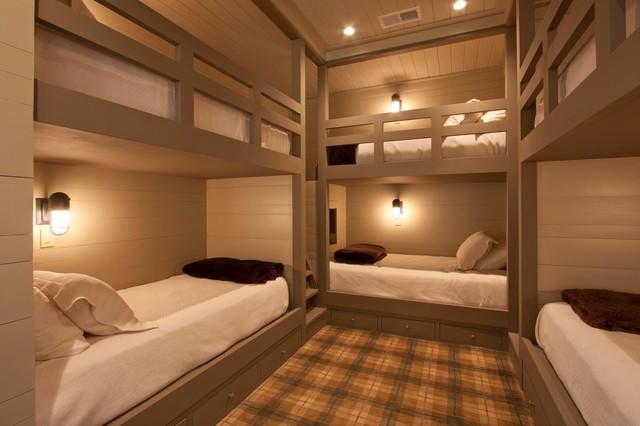 Cashiers Update rustic-bedroom