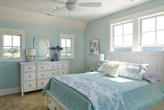 Cassatt Row Cottage Bay Creek Beach Style Bedroom Atlanta