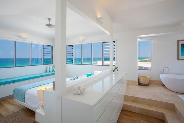 Castaways Beach House - Beach Style - Bedroom - Sunshine Coast - by ...