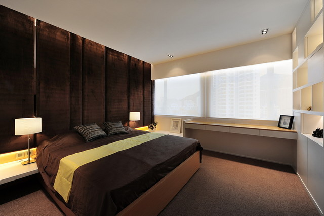 Castle Peak Road House (Hong Kong) modern-bedroom