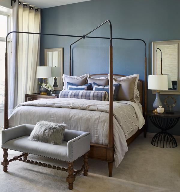 Transitional Master Bedroom Ideas: Castle Pines Master Suite Remodel