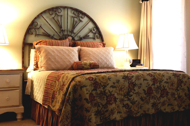 Casual country chic master bedroom surprise az for Casual master bedroom ideas