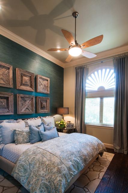 Casual elegance guest bedroom rustic bedroom for Rustic elegant bedroom designs