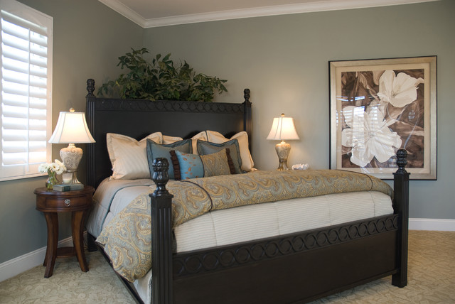 casual elegance master bedroom traditional bedroom