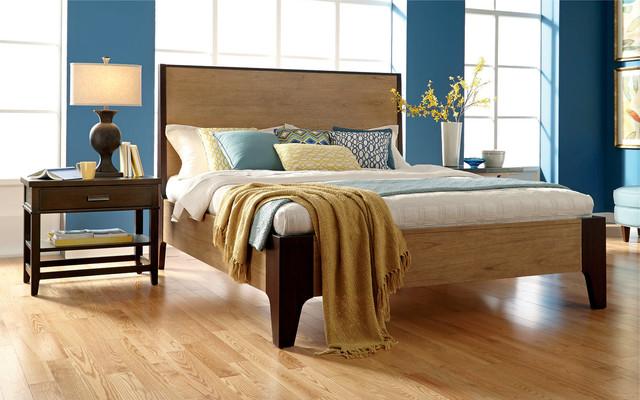 Casual Modern Master Bedroom   Transitional   Bedroom ...