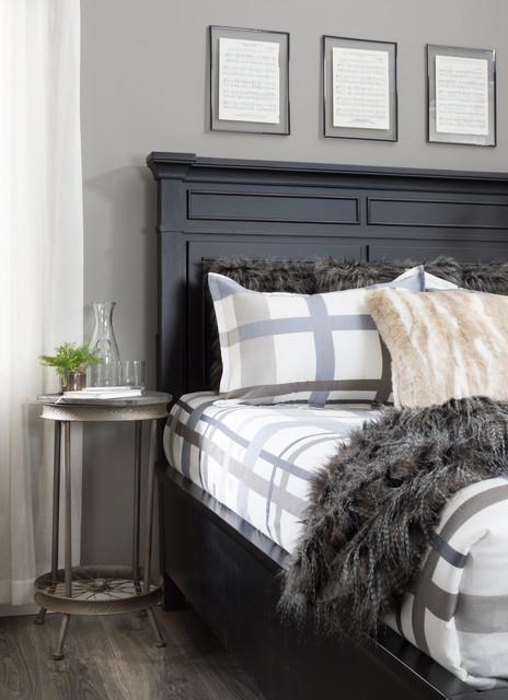 Casual Small Space Bedroom - Industrial - Bedroom - Denver ...