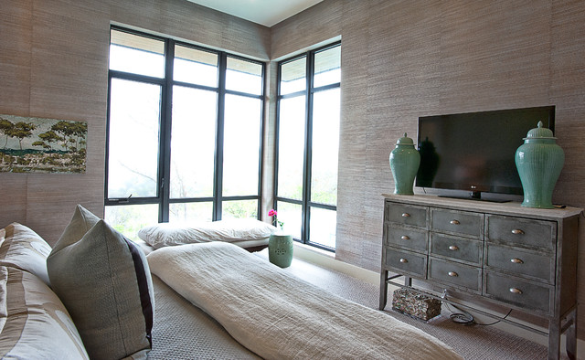 Cat Mountain Residence modern bedroom