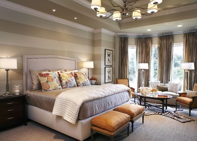 CDA Interior Design traditional-bedroom