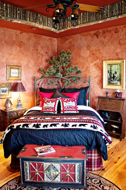 Cedar Creek Lodge - Traditional - Bedroom - dallas - by Annie's ...