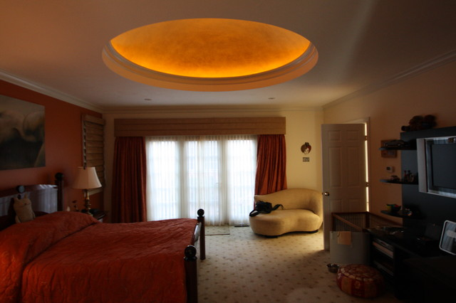 Ceiling Dome contemporary-bedroom