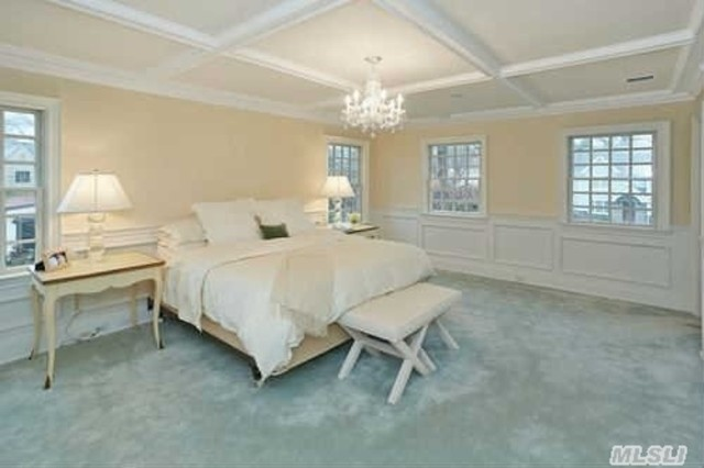 ceilings moldings and trim transitional bedroom