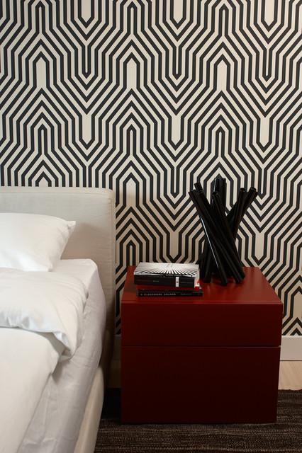 Central Park Pied à terre modern-bedroom