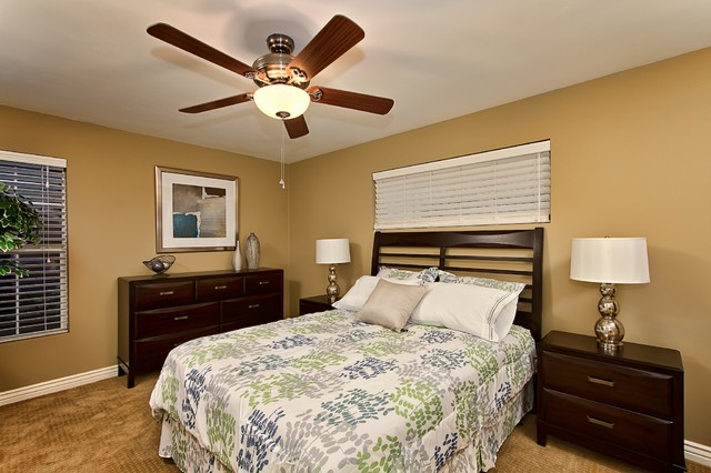 Central Phoenix Remodel and Interior Design transitional-bedroom