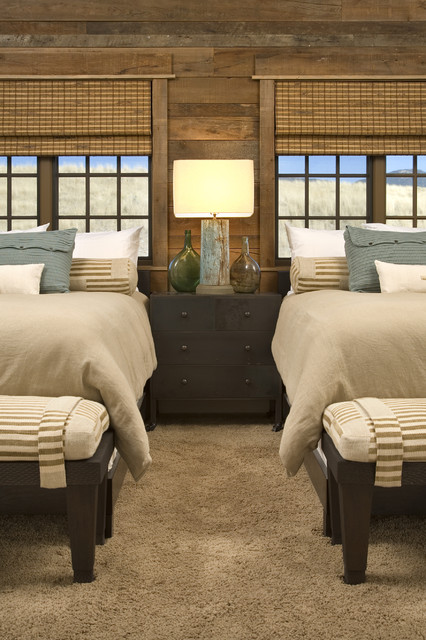 Channels Ranch rustic-bedroom