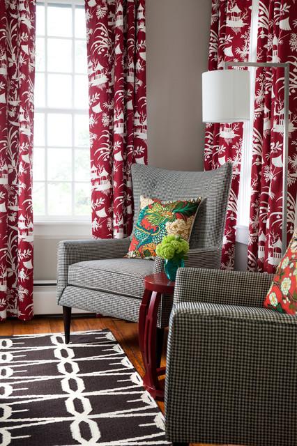 Chapman House eclectic-bedroom