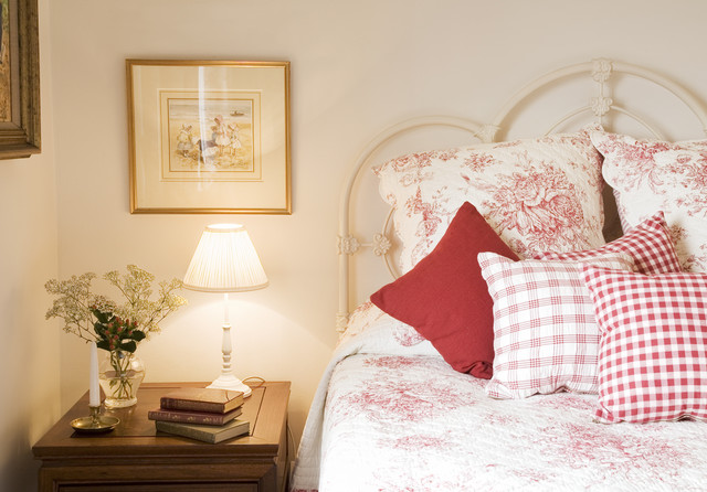 Charming City Guest Bedroom traditional bedroom