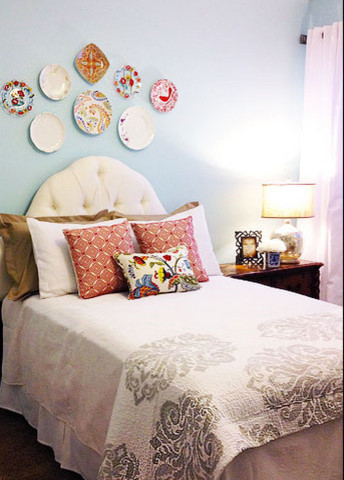 charming craft guest room eclectic bedroom omaha
