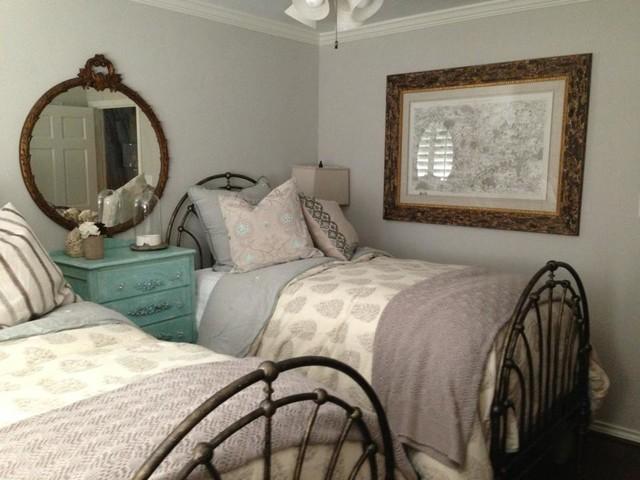 Charming Feminine Bedroom - Beach Style - Bedroom - los angeles - by ...