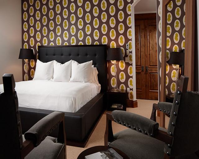 Charming Ski Home rustic-bedroom