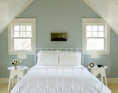 Chartwell House :: Design + Build by Aquidneck Properties beach-style-bedroom